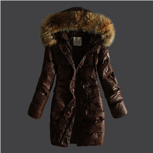 Ban Moncler Dúin Coats Pure Dath Hooded Caife DG1953 [bd50]